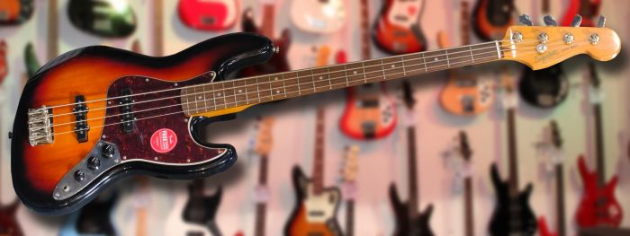 Squier Classic Vibe Jazz Bass