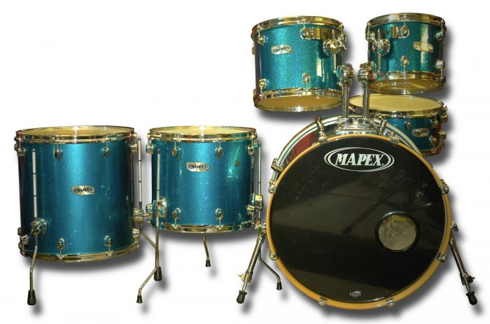 Mapex Pro M Series 6 Piece Shell Pack (used)