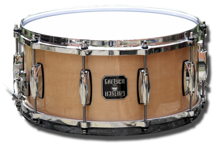 Gretsch 14in x 6.5in Maple Snare (Natural Gloss)