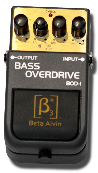 Beta Aivin Bass Overdrive