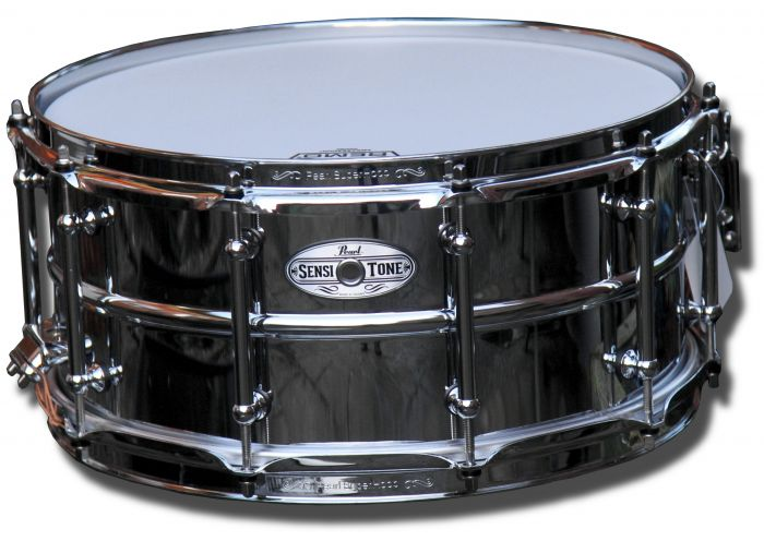 Pearl 14in x 6.5in Sensitone Steel Snare