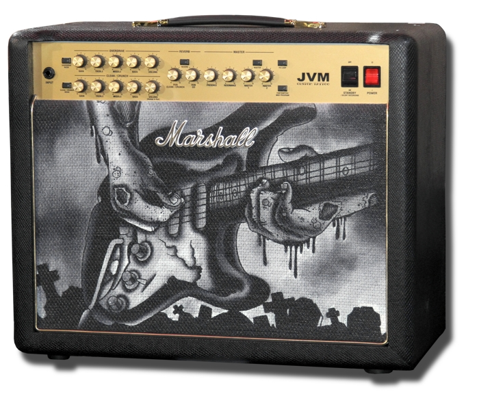 Marshall JVM215C Custom Tattoo Phil Kyle