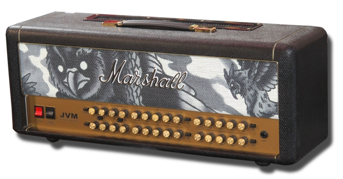 Marshall JVM410H Custom Tattoo Phil Kyle