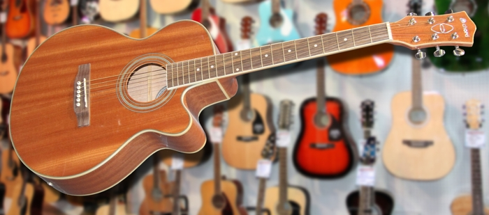 Chord N4S Sapele Electro Acoustic