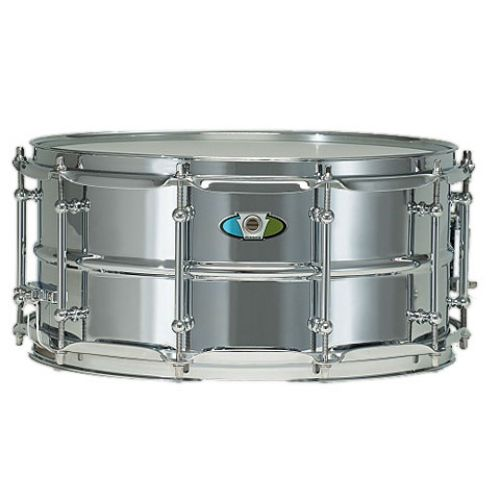 Ludwig Supralite 14in x 6.5in Steel Snare Drum