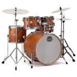 Mapex Storm 5 Piece kit + Hardware, cymbals and Throne