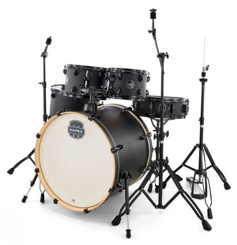 Mapex Storm 5 Piece kit in Deep Black + Black Hardware (ex demo)