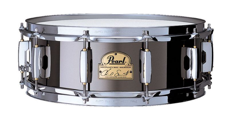Pearl Signature 14in x 5in 'Chad Smith' Steel Snare